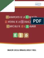 Fundamentos de la Educación  Integral de la Sexualidad en la Currícula de El Salvador