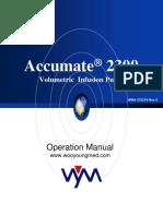 Accumate 2300 Operation Manual-F
