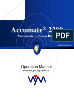 Accumate 2300 Operation Manual-F