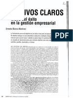 2 - Objetivos Claros