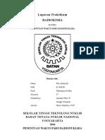 Laporan Praktikum Penentuan Waktu Paro Radionuklida Fitri