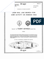NPIC Photographic Interpretation Report, USSR Rail Line Search for ICBM Activity on Mission 1004, May 1964.