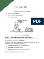 Une Définition Du Leadership