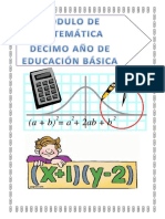 Matemáticas 10 EGB