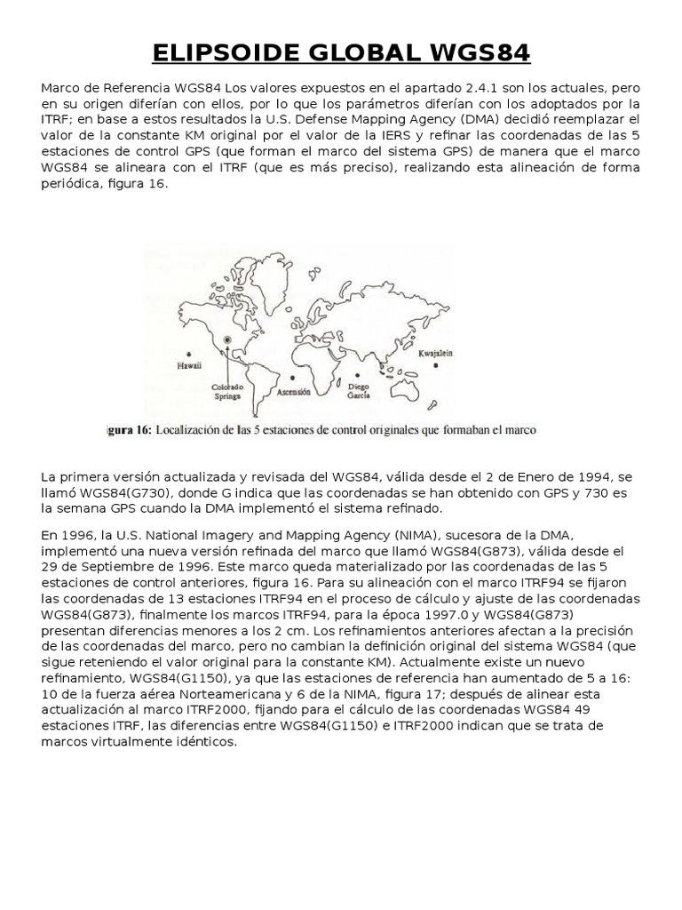 Elipsoide Global Wgs84
