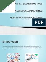 ACTIVIDAD#1 ELEMENTOS WEB