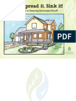 Slow it. Spread it. Sink it! - A Homeowner's Guide to Greening Stormwater Runoff