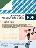 Dependencia Afectiva Emocional