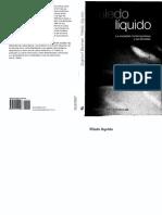 Miedo líquido, La sociedad comteporánea y sus temores.pdf