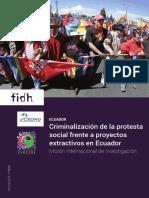 FIDH - criminalización