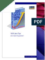 1000 Java Tips