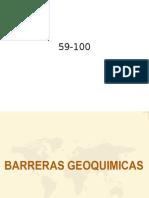 barreras geoquimicas