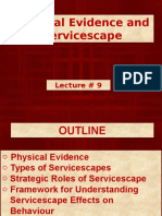 Physical Evidence & the Servicescape
