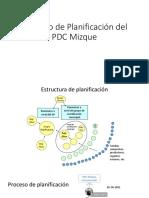 Proceso de Planificación Del PDC Mizque