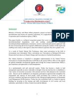 Combating Desertification Turkey, 2016