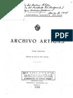 Caratula de Archivo Artigas_Tomo3_Pivel Devoto