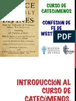 Introducción a la Confesión de Fe de Westminster.