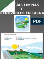 Energias Limpias Y renovables en Tacna.