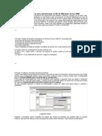 Ativando Servidor Radius Para Autenticação No AD Do Windows Server 2008