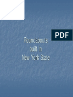 New York Roundabouts