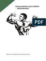 Abdominales Y Sesión HIIT