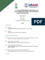 Final Agenda - May 21 2015 Lima1 0