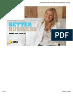 Better Business CBA QUARTERLY REPORT