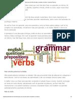 Coisas Que Você Não Deve Fazer Ao Estudar Um Idioma