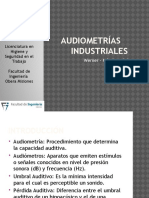 Audiometrias Industriales