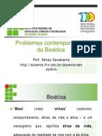 Problemas Contemporâneos Da Bioética