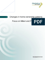 Changes in home-ownership patterns 1986–2013