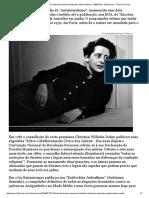 Trecho de Manuscrito de Hannah Arendt Sobre Antissemitismo