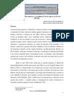 As Classes Populares e a Valorização Da Educação No Brasil