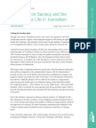 Reflections on Secrecy and the Press from a Life in Journalism, by Walter Pincus