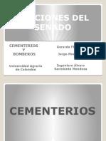 Cementerios y Bomberos