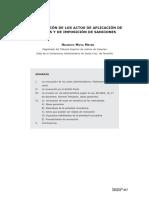 (ES) D - Revocación de Actos que aplican Tributos y Sanciones Administrativas