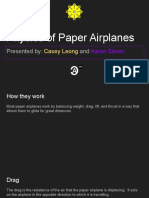 paper airplane physics