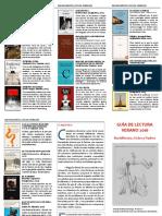 Guía de Lectura. Bachillerato y Ciclos Verano 2016. IES FGL