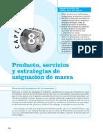 Producto, Servicios y Estrategia de Asignación de Marca