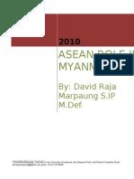 ASEAN Role in Myanmar