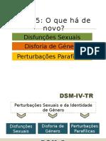 Alterações DSM-5 Disfunções Sexuais