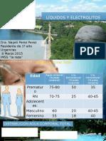 Fisiologia de Los Liquidos y Electrolitos en Pediatria