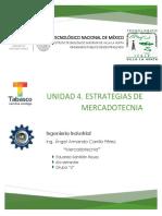 Unidad 4. Mercadotecnia