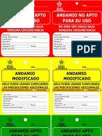 Etiquetas Para Andamios