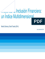 Gestion Financiera - Inclusion Financiera 2014
