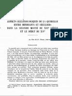 Congar_Aspects Eclesiologiques de La Querelle