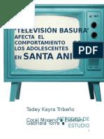 Monografia La Tv Basura word
