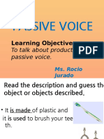 Passive Voice by Chio