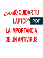 Cómo Cuidar Tu Laptop