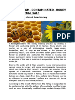 Eu Bans Gm Contaminated Honey From General Sale